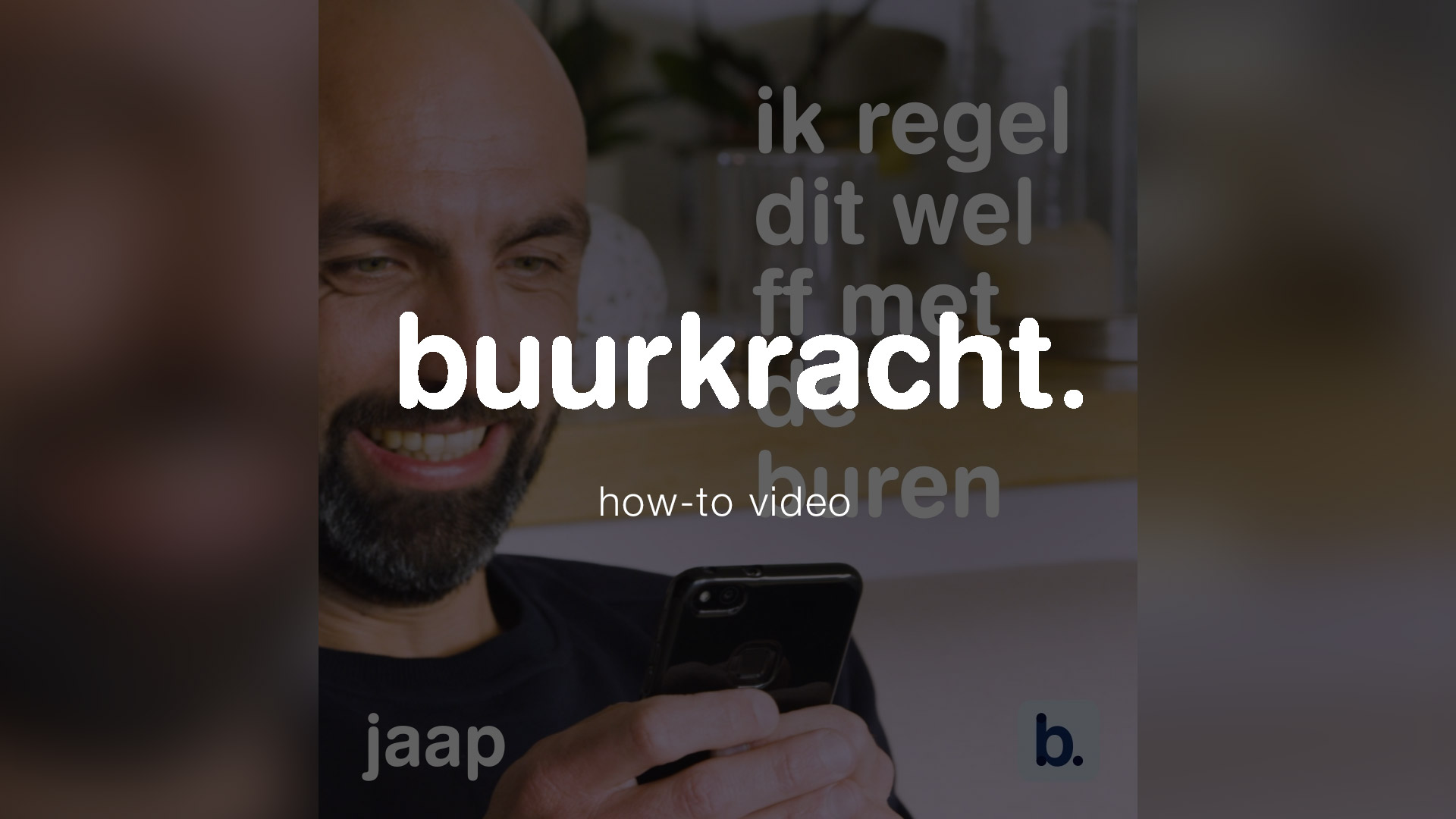 buurkracht app how-to uitleg video