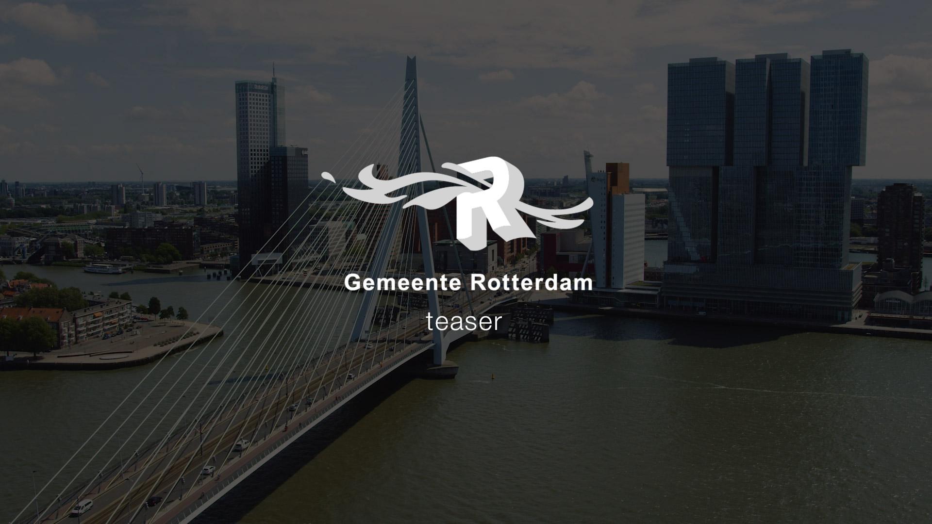 Up! Rotterdam video teaser gemeente Rotterdam