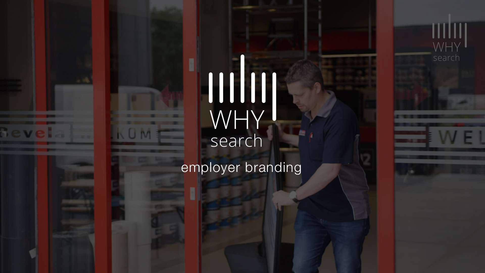 WHY search employer branding video